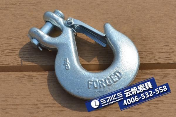美式羊角滑钩331(带舌片)